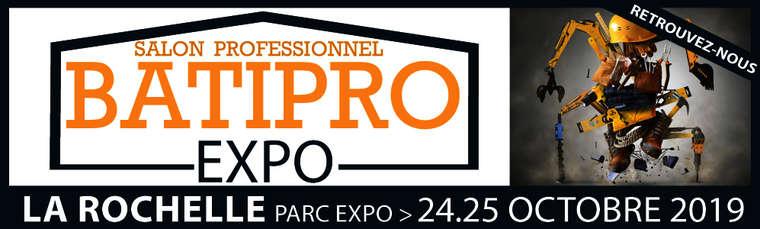 Visuel : SALON BATIPRO EXPO 2019
