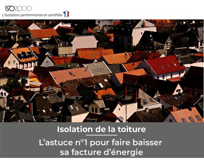 Visuel : Isoler sa toiture: l'astuce n°1 pour faire baisser sa facture d'énergie