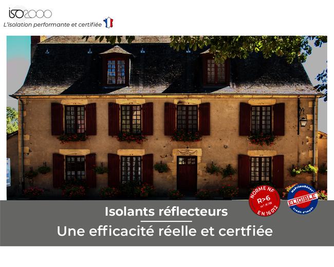 Visuel : Isolants réflecteurs : une efficacité réelle et certifiée