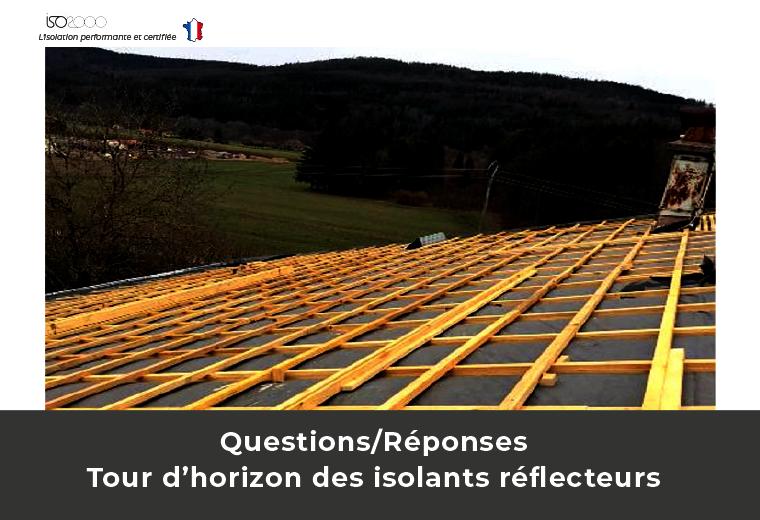 Visuel : Tour d'horizon des isolants réflecteurs en 8 questions/réponses